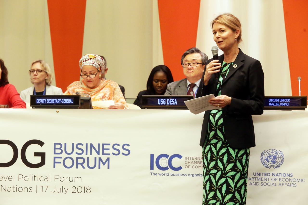SDG Business Forum Urged to Do Business Responsibly and
