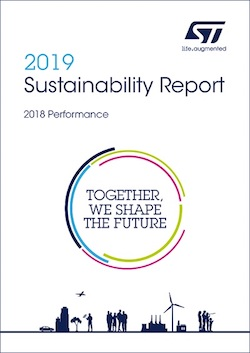 STMicroelectronics Reports Progress Towards 2025 Sustainability Goals