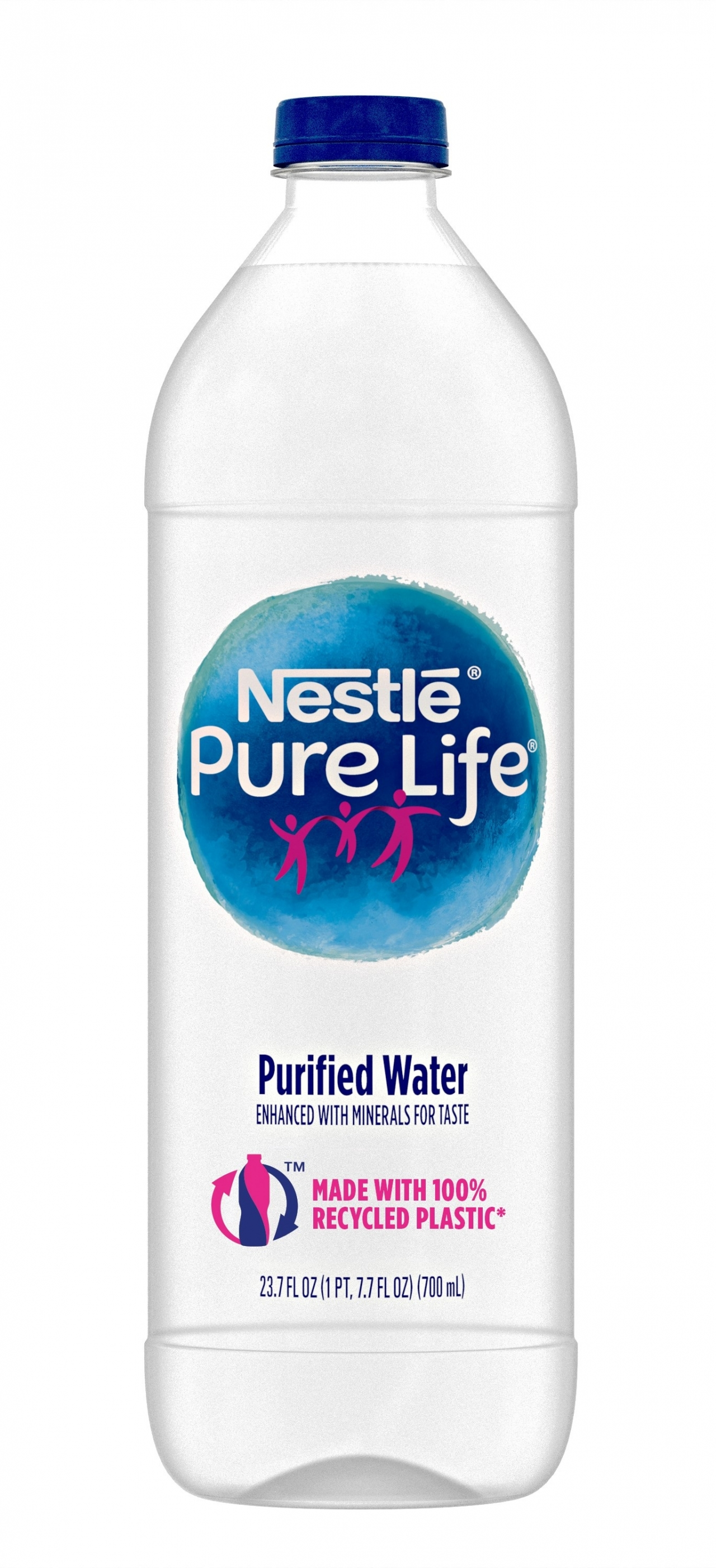 Nestlé® Pure Life® Purified Water Launches New Bottle Made ...  Nestlé® Pure ...
