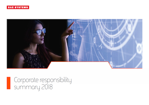 BAE Systems Publishes 2018 Annual Report and Corporate Responsibility Summary