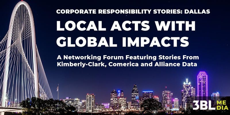 Corporate Responsibility Stories, Dallas: Local Acts