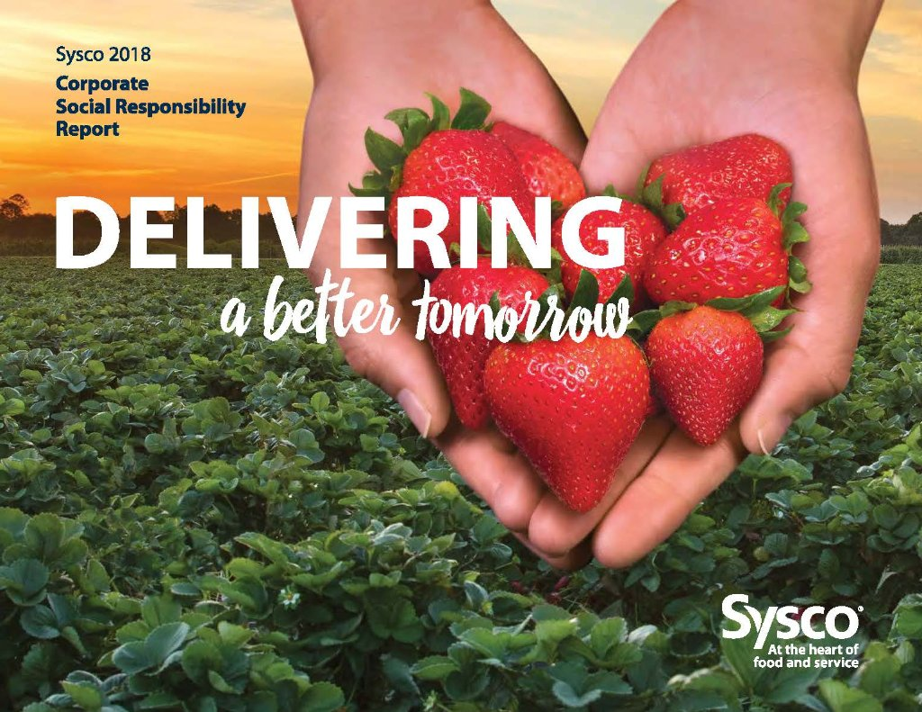 """Sysco Reports Progress of """"Delivering A Better"""