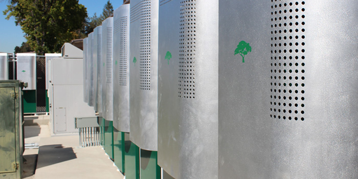Lithium Ion Energy Storage Systems At Mountain View High School. Over 1 MWh  Of Energy Storage Capacity Is In Use Across MVLAu0027s Two Campuses.
