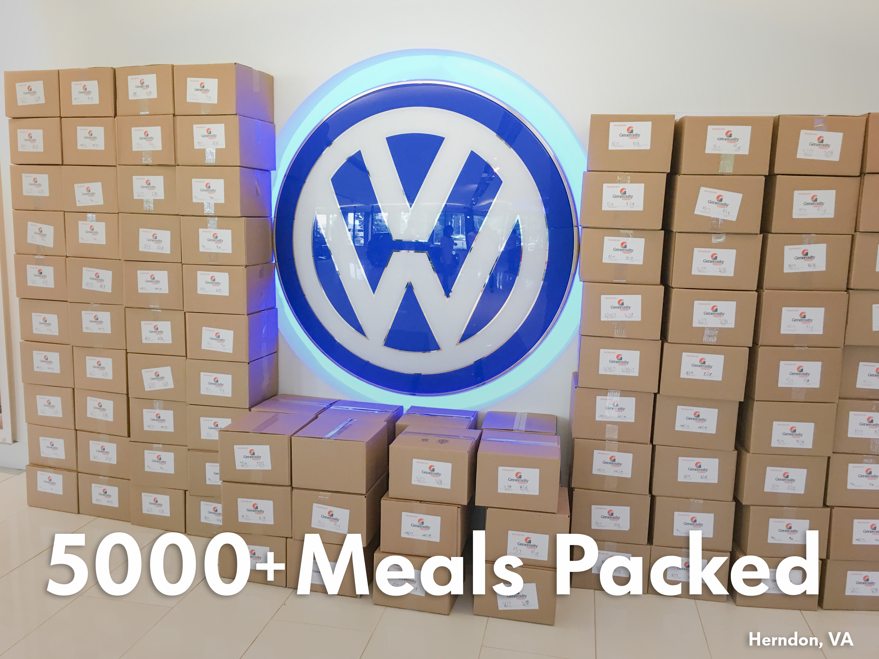 """Volkswagen Group of America Employees Give Back With Get Involved """"Summer of Service"""" 