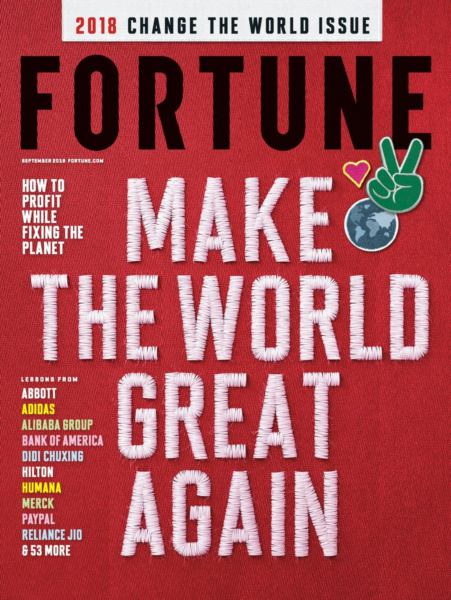 "Merck Ranked No  2 in Fortune Magazine's 2018 ""Change the"