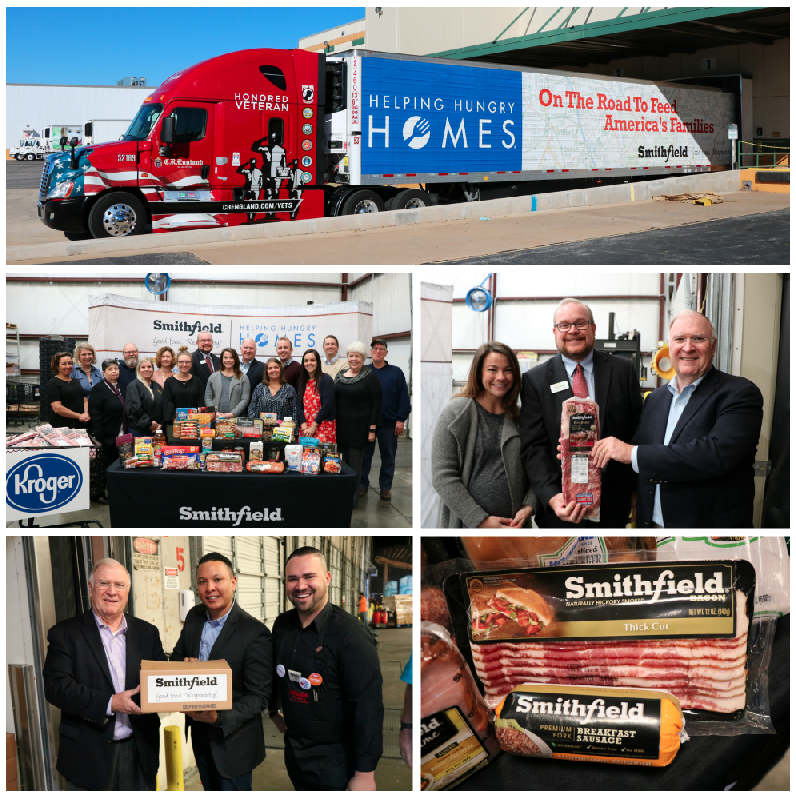 Smithfield Foods Donates 80000 Pounds Of Protein To The Regional