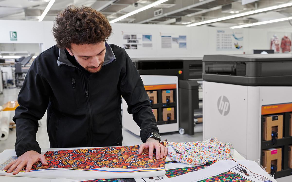 A More Sustainable Way To Print On Fabric