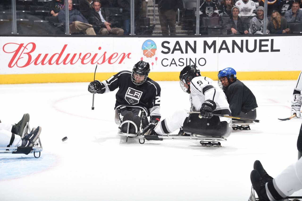 La Kings Celebrate Diversity And Inclusion With Hockey