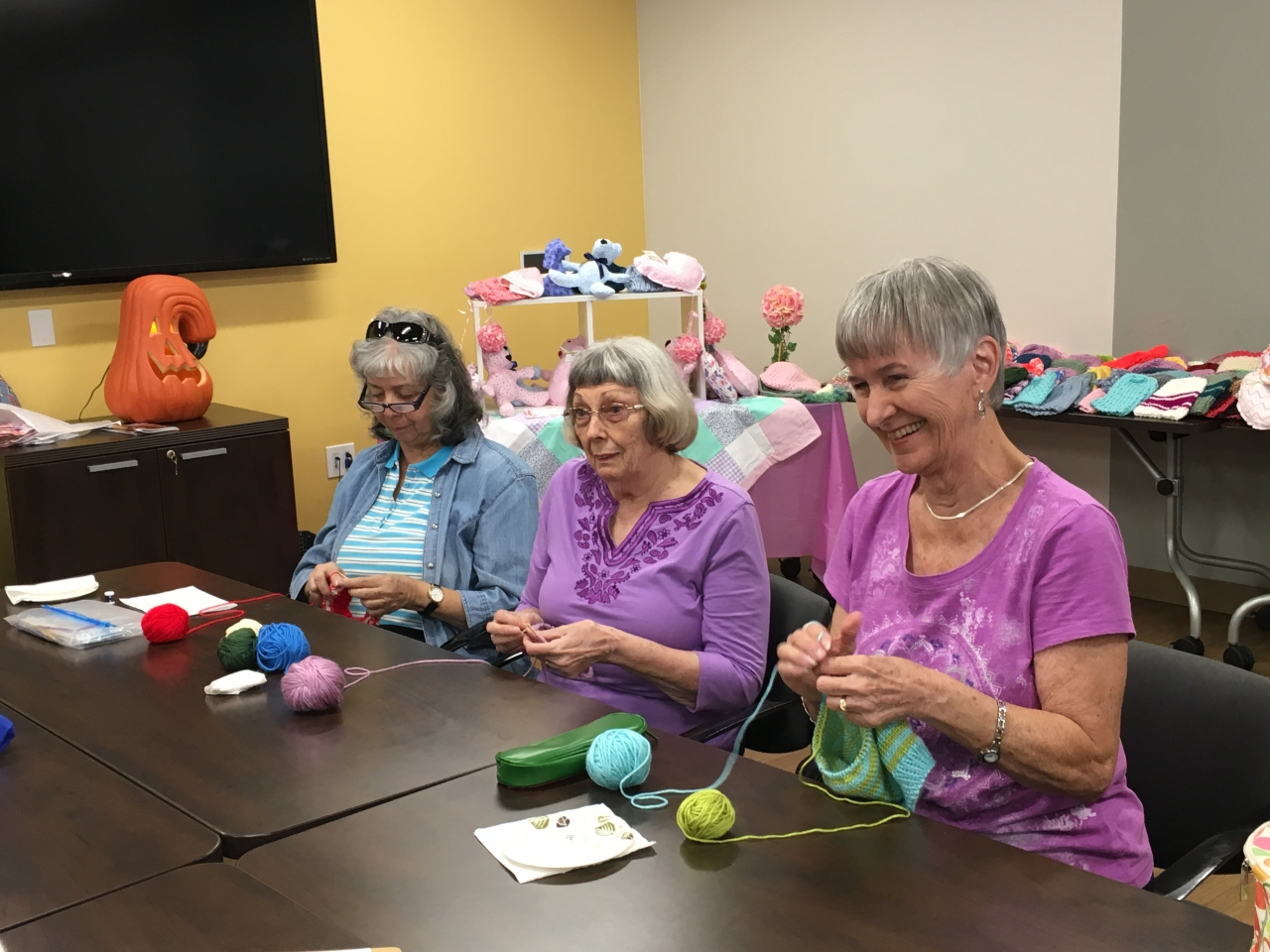 Humana Charity Crafters Donate 500+ Handmade Items to