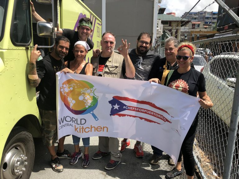 the chefsforpuertorico social media campaign helped to fund andrss massive relief operation in puerto rico image credits world central kitchen - World Central Kitchen
