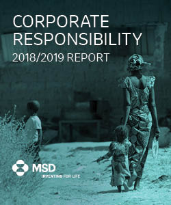 MSD Publishes 2018/2019 Corporate Responsibility Report