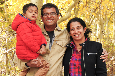 Gentil Pradeep Ramamurthy, Wife Priya And 5 Year Old Son Prateek Look Forward To A  Fulfilling Life In The U.S., Partly Thanks To PNCu0027s Help
