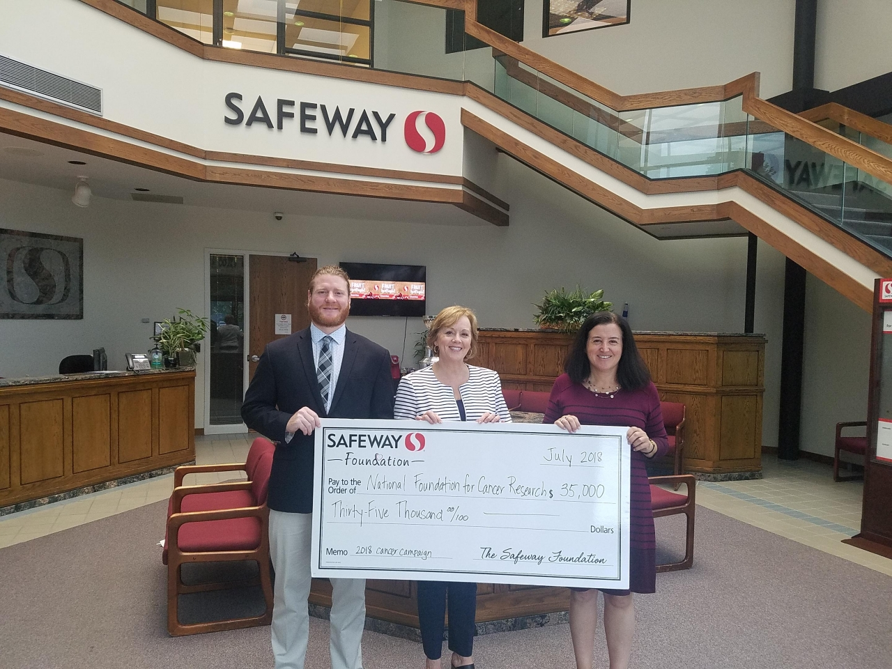 Safeway Foundation grant awarded to the National
