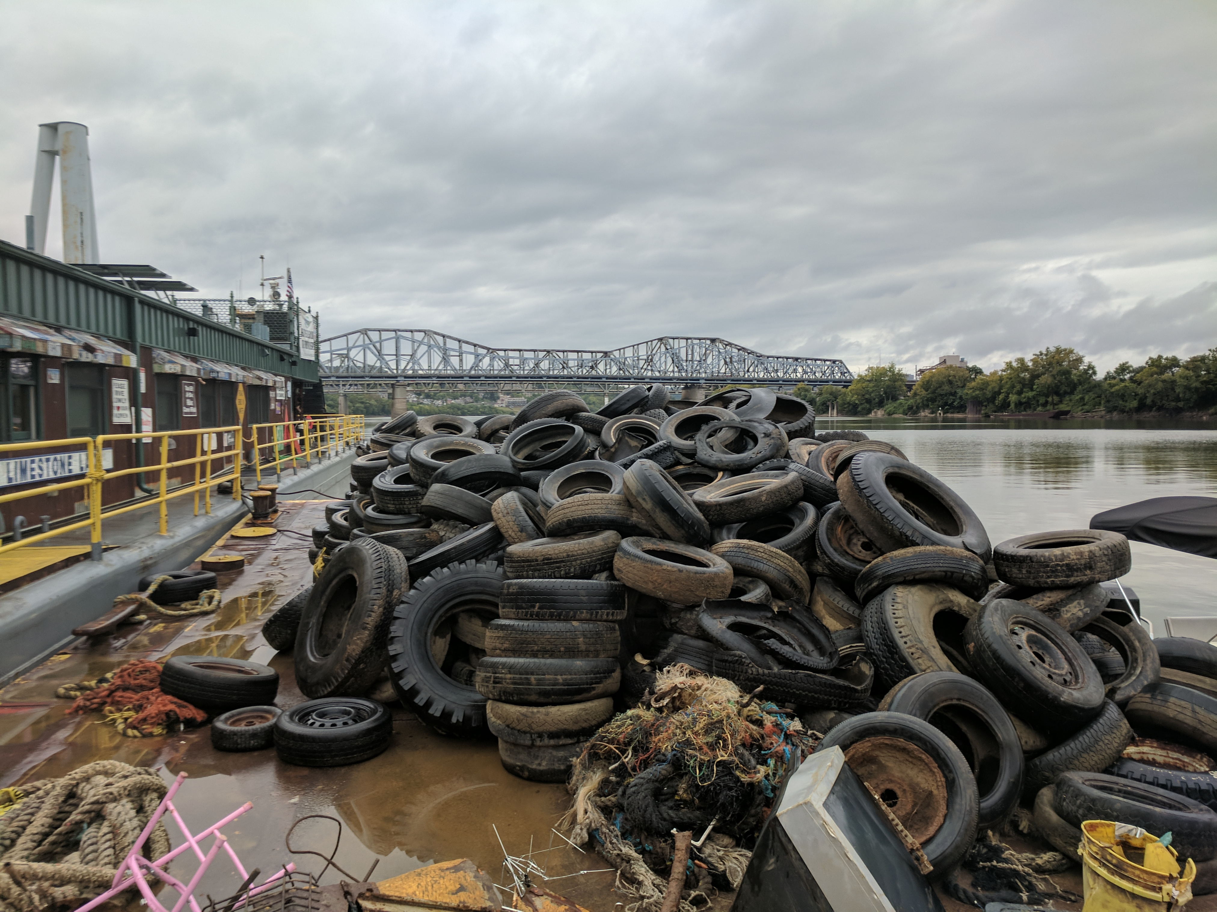 Organizations Work to Reuse 2,500 Pounds of Scrap From Ohio River ...