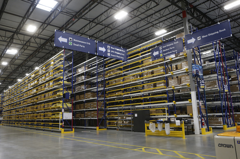 FCA US Mopar Parts Distribution Center Honored With