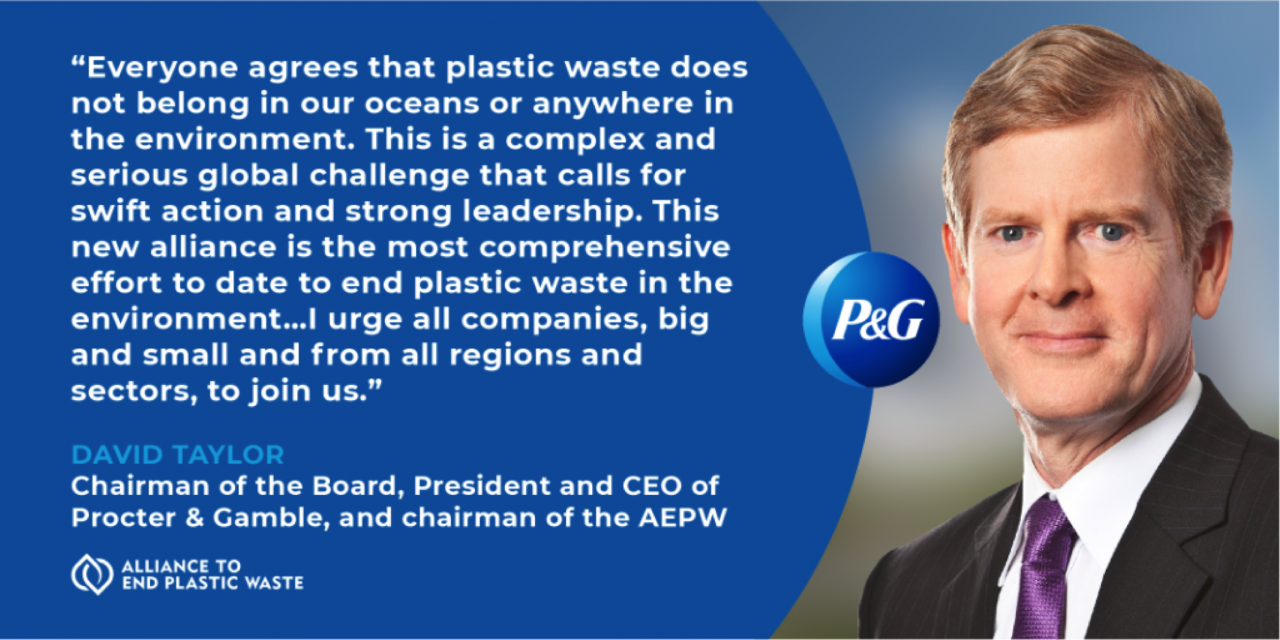 Procter Gamble Is Proud To Be A Founding Member Of