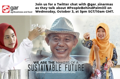 LIVE Twitter Chat on #PeopleBehindPalmOil with Golden