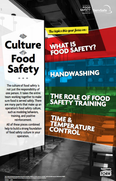 September Is National Food Safety Month