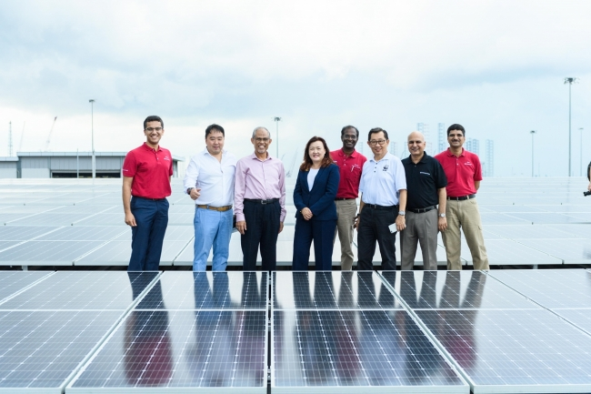 Kimberly Clark Switches On One Of Singapore S Largest