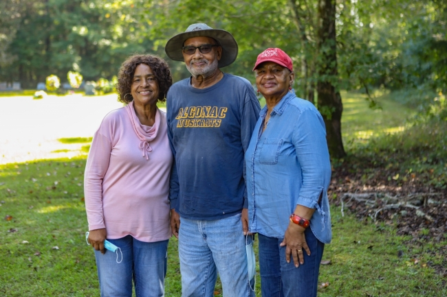 Heirs' property owner in Mississippi