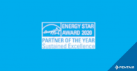 Pentair Earns 2020 ENERGY STAR® Partner of the Year – Sustained Excellence Award
