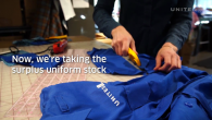 United Turns Old Uniforms Into Masks for Employees