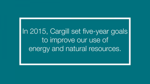 VIDEO | Making Cargill More Efficient & Sustainable