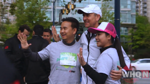"""On World Food Day, Amway Ran a """"Power of 5K"""" Virtual Race"""