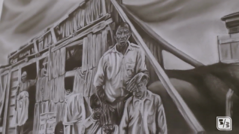 Fifth Third Hosts 'The Continual Struggle' Art Exhibit During Black History Month