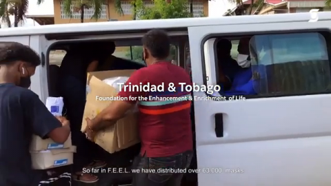 Watch: Scotiabankers Continue Supporting COVID-19 Relief Efforts in Communities Around the Globe