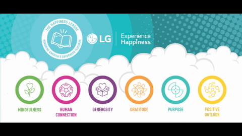 The Happiness League: Honor America's Superhero Teacher with LG and Experience Happiness Partners