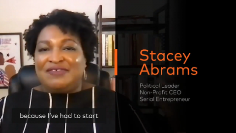 Be An Agent of Change: 5 Takeaways From Stacey Abrams
