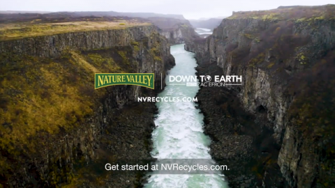 Are You Down To Recycle? Nature Valley and Down to Earth With Zac Efron Partner for Recycling Awareness