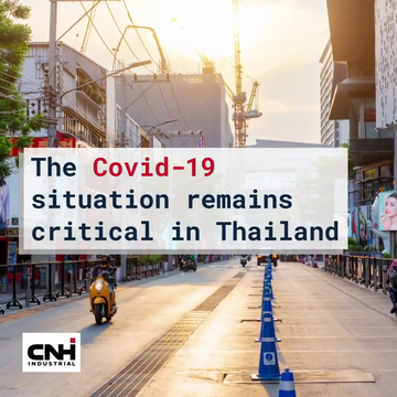 CNH Industrial 'We Care, We Share' Outreach Program in Thailand Continues