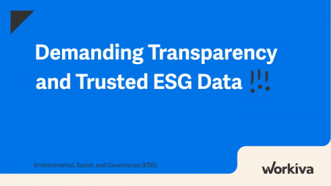 The Power of Transparency in ESG Data
