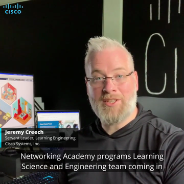 How Cisco Networking Academy's Learning Engineering Team Creates a Pathway to New Skills