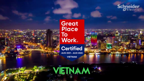 Schneider Electric: Now A Certified Great Place To Work in Southeast Asia