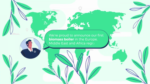 Kimberly-Clark's Manufacturing Facility in Spain Reduces Direct Carbon Emissions by 40%