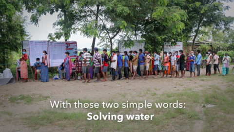 Mercy Corps and Xylem - Partnering To Solve Water for Crisis-Affected Communities Around the World