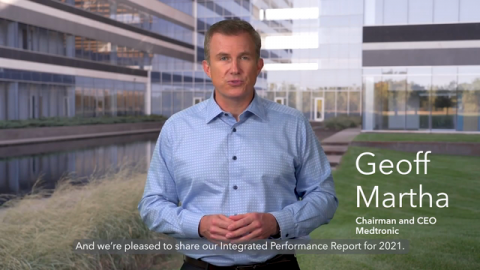 Medtronic Announces New ESG Targets in Its FY21 Integrated Performance Report and Unveils Refreshed Brand