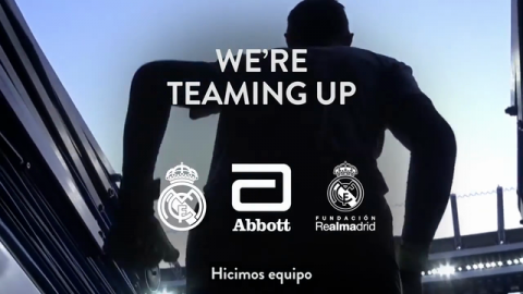 Abbott and Real Madrid Team Up to Support the Health and Nutrition of Children Globally