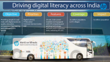 VIDEO: HP World on Wheels | Driving Digital Literacy Across India