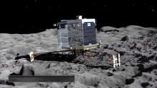 Five Years Out: The European Space Agency's Rosetta Spacecraft