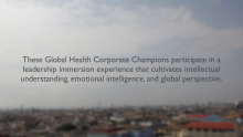 Global Health Corporate Champions Have Openings Available for February Cohort