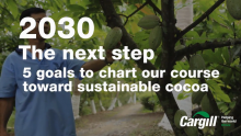 Cargill VIDEO | 5 Goals for Sustainable Cocoa