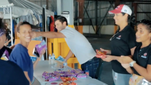 Casa Bacardi Tour Guides Help at Puerto Rico Shelters