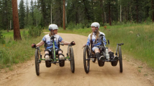 """CBS """"Courage in Sports"""" Features the Arrow Quintum, Paralympians With Purpose"""