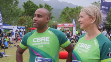 CBRE Hong Kong Completes 5th MoonTrekker in 2017