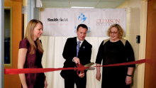 Smithfield Foods Supports The Faison Center