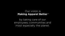 Join Gildan in Working Towards Making Apparel Better
